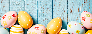 Easter holidays in a holiday home or holiday appartment